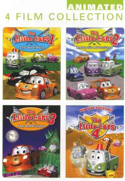 Little Cars 1/Little Cars 2/Little Cars 3/Little Cars 4 (DVD)