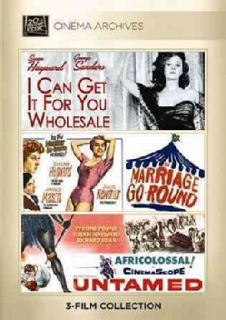 I Can Get It for You Wholesale/Marriage-Go-Round/Untamed 1955 (DVD)