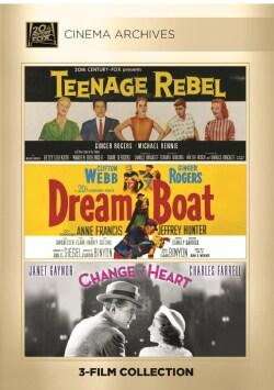 Teenage Rebel/Dreamboat/Change Of Heart (DVD)