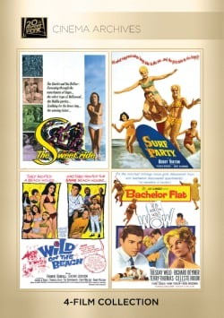 The Sweet Ride/Surf Party/Wild On The Beach/Bachelor Flat (DVD)