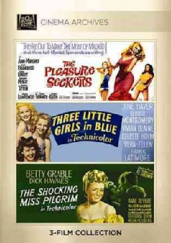 The Pleasure Seekers/Three Little Girls In Blue/The Shocking Miss Pilgrim (DVD)
