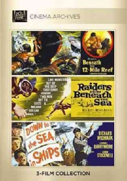 Beneath The 12-Mile Reef/Raiders From Beneath The Sea/Down To The Sea In Ships (DVD)