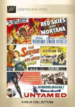 Red Skies Of Montana/Siege At Red River/Untamed (DVD)