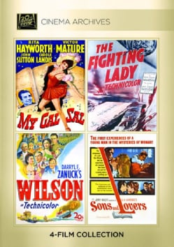 My Gal Sal/The Fighting Lady/Wilson/Sons And Lovers (DVD)