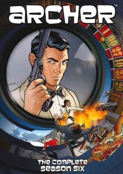 Archer: Season 6 (DVD)