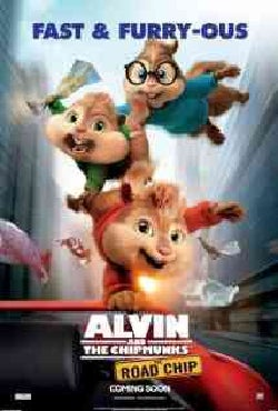 Alvin And The Chipmunks: The Road Chip (Blu-ray/DVD)