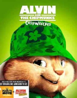 Alvin And The Chipmunks: Chipwrecked (Blu-ray/DVD)