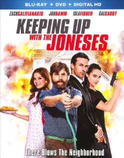 Keeping Up With The Joneses (Blu-ray/DVD)