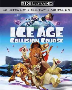 Ice Age: Collision Course (4K Ultra HD) (DVD)