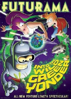 Futurama: Into The Wild Green Yonder (DVD)