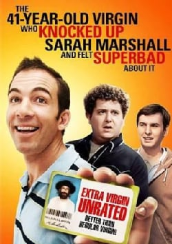 The 41 Year Old Virgin Who Knocked Up Sarah Marshall And Felt Superbad About It (DVD)