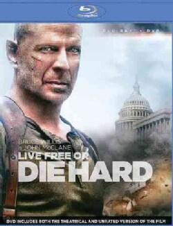 Live Free Or Die Hard (Blu-ray/DVD)
