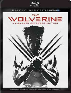 The Wolverine 3D (Unleashed Extended Edition) (Blu-ray/DVD)