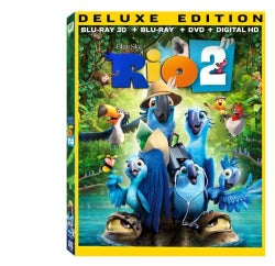 Rio 2 3D (Deluxe Edition) (Blu-ray/DVD)
