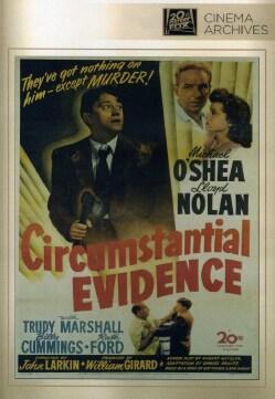 Circumstantial Evidence (DVD)