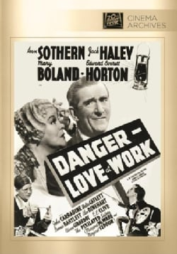 Danger: Love At Work (DVD)