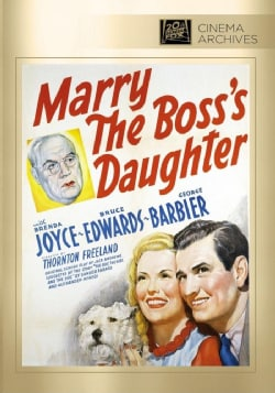 Marry The Boss's Daughter (DVD)