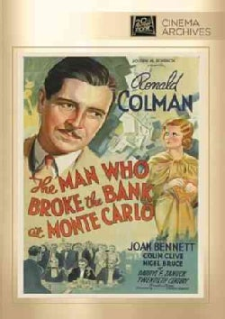 The Man Who Broke The Bank At Monte Carlo (DVD)