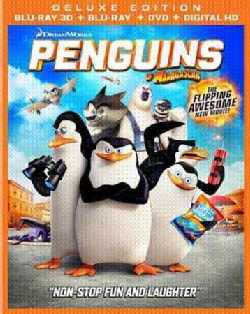 Penguins Of Madagascar 3D (Blu-ray/DVD)