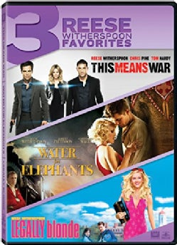 This Means War/Water For Elephants/Legally Blonde (DVD)