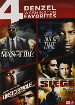 Man On Fire/Out Of Time/Unstoppable/The Siege (DVD)