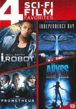 I, Robot/Independence Day/Prometheus/The Abyss (DVD)