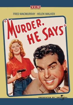 Murder, He Says (DVD)
