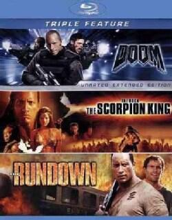 Doom/The Scorpion King/The Rundown (Blu-ray Disc)
