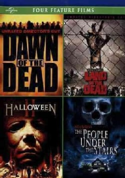 Dawn Of the Dead/George A. Romero's Land Of The Dead/Halloween II/The People Under The Stairs (DVD)