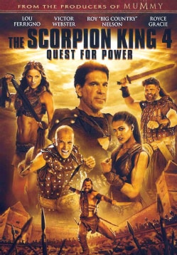 The Scorpion King 4: Quest For Power (DVD)