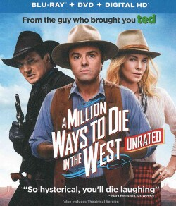 A Million Ways To Die In The West (Blu-ray/DVD)