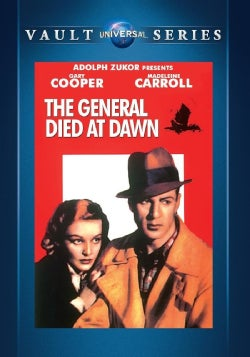 The General Died At Dawn (DVD)