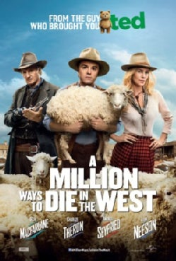 A Million Ways To Die In The West (DVD)