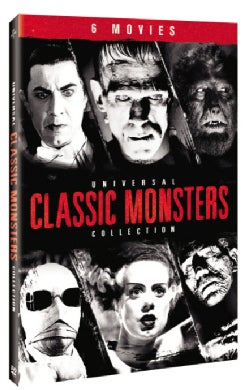 Universal Classic Monsters Collection (DVD)