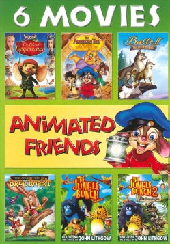 Animated Friends 6-Movie Collection (VHS)