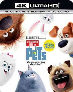 The Secret Life Of Pets (4K Ultra HD) (4K Ultra HD Blu-ray)