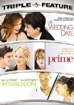 Wedding Date/Prime/Wimbledon (DVD)