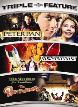 Peter Pan/Thunderbirds/The Borrowers (DVD)