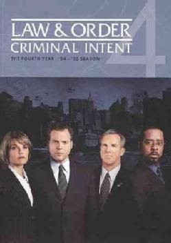 Law & Order: Criminal Intent Season 4 (DVD)