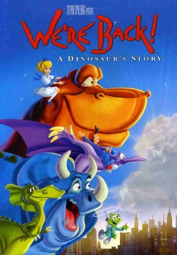We're Back! A Dinosaur's Story (DVD)