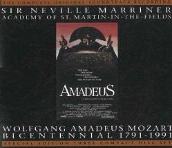 Neville Sir Marriner - Amadeus (OST) - Mozart Bicentennial Special Edition