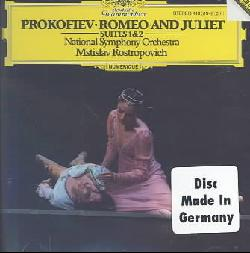 Rostropovich/National Symphony Orchestra - Prokofiev:Romeo & Juliet