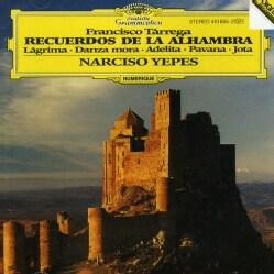 Narciso Yepes - Tarrega: Recuerdos De La Alhambra