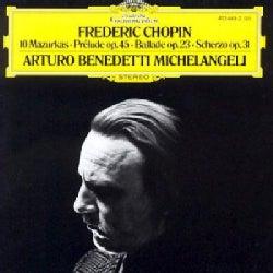 Arturo Benedetti Michelangeli - Chopin: Mazurkas, Perludes, Etc.