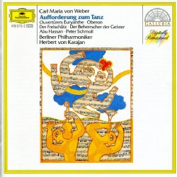 Berlin Philharmonic Orchestra - Weber: Invitation To The Dance/Overtures
