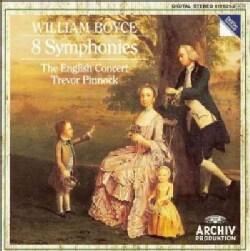 Pinnock/Ect - Boyce: 8 Symphonies