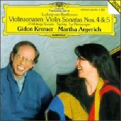 Kremer/Argerich - Beethoven:Violin Sonatas 4 & 5