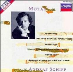 Schiff - Mozart:Variations/Adagios