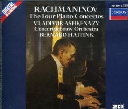 Vladimir Ashkenazy - Rachmaninov:Piano Concertos 1-4