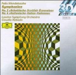 Claudio Abbado - Mendelssohn:Syms. 3 & 4